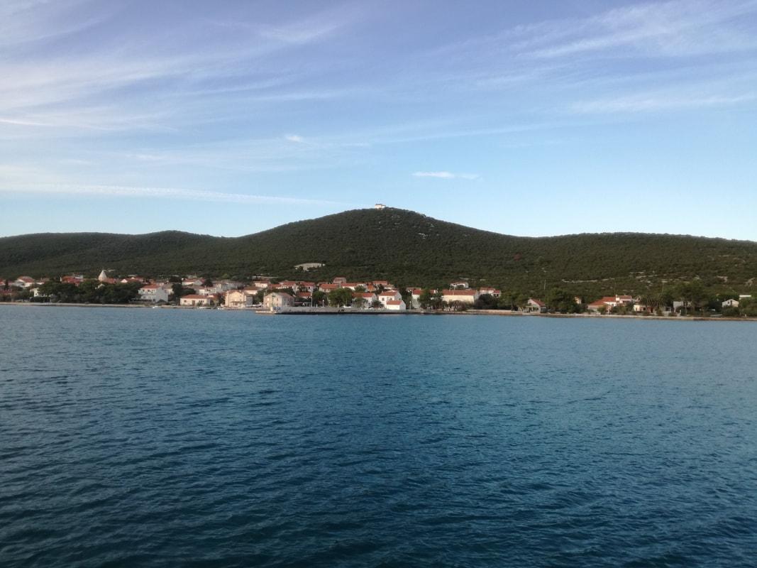 Jadranje otok Ist